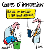 Cours d'immersion
