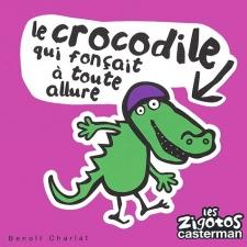 Le crocodile qui fonçait à toute allure